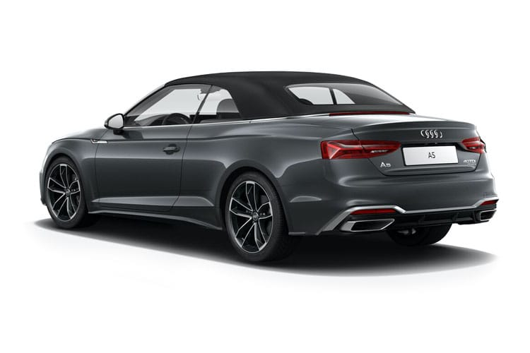 Audi A5 40 Cabriolet quattro 2Dr 2.0 TDI 190PS S line 2Dr S Tronic [Start Stop] back view