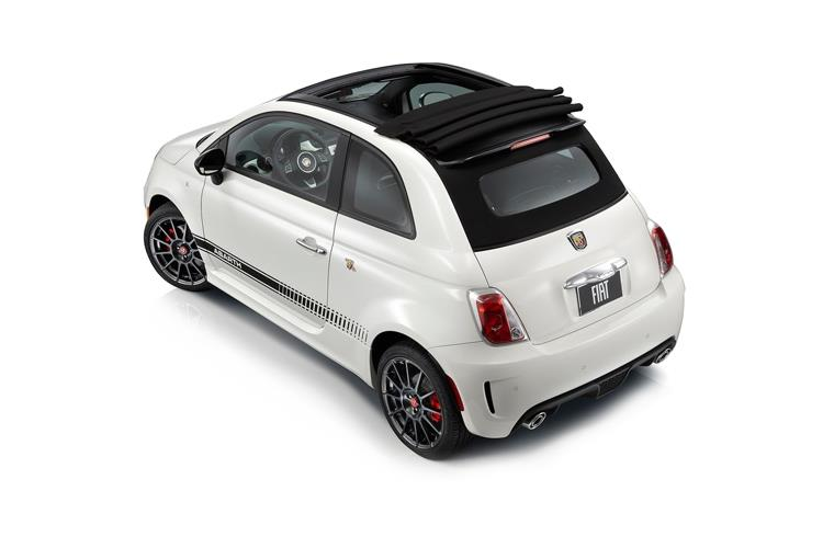 Abarth 595 C Cabrio 1.4 T-Jet 180PS Competizione 2Dr Manual back view