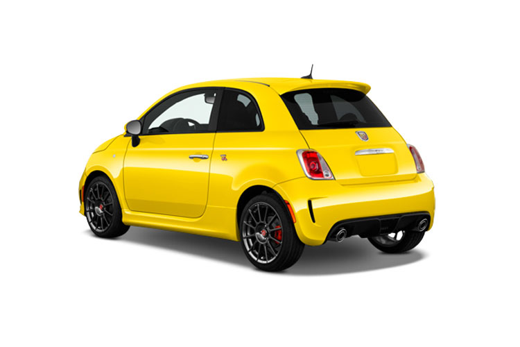 Abarth 695 Hatch 3Dr 1.4 T-Jet 180PS 70th 3Dr Manual back view