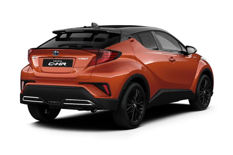 Toyota C-HR 5Dr 1.8 VVT-h 122PS Design 5Dr CVT [Start Stop] [Lthr] back view