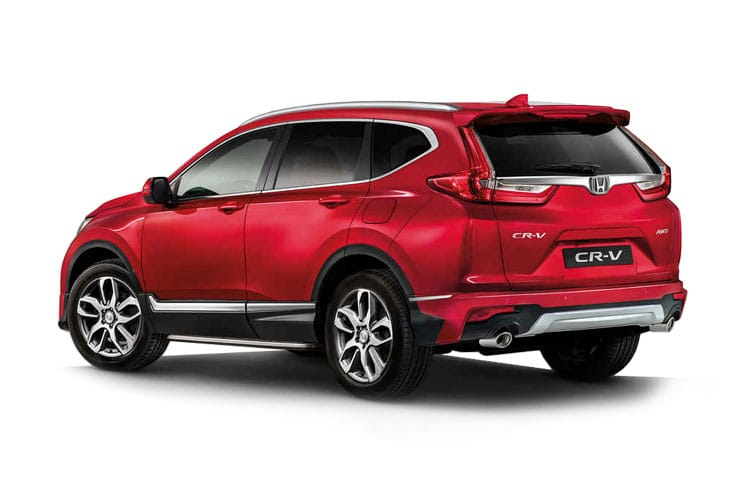 Honda CR-V SUV 1.5 VTEC Turbo 193PS SR 5Dr CVT back view