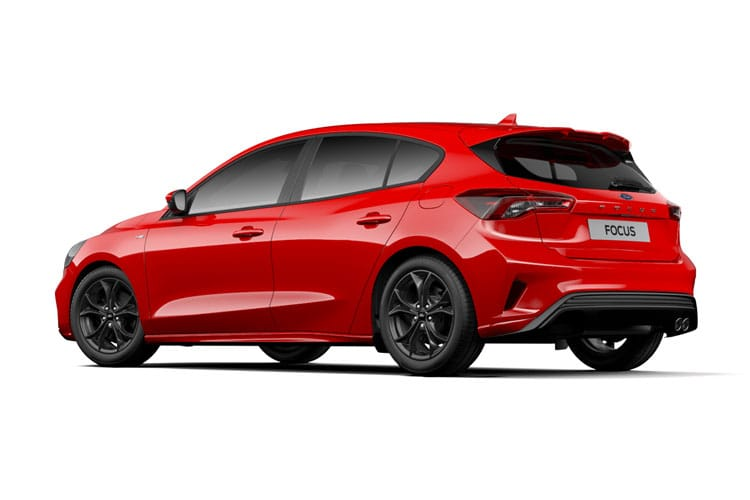 Ford Focus Hatch 5Dr 1.0 T EcoBoost 125PS Active X Vignale Edition 5Dr Auto [Start Stop] back view