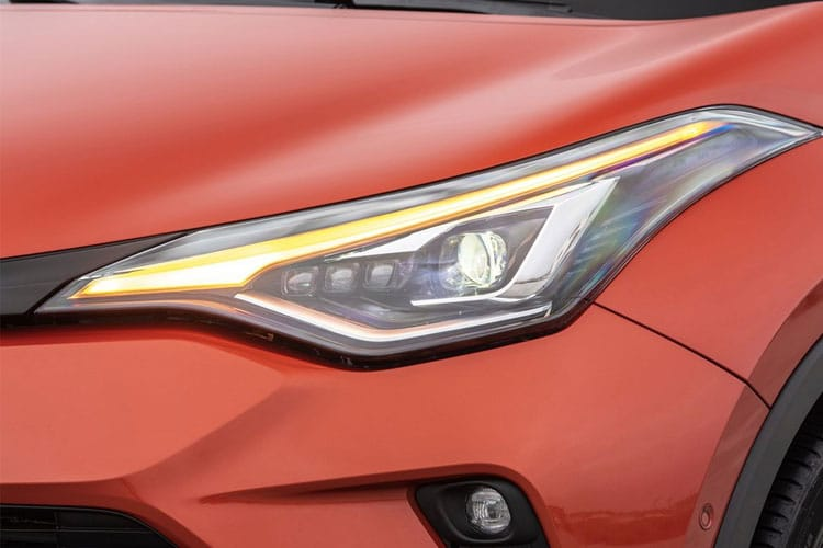 Toyota C-HR 5Dr 1.8 VVT-h 122PS Design 5Dr CVT [Start Stop] [Lthr] detail view