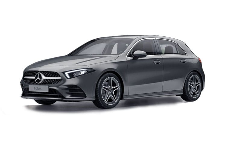 Mercedes-Benz A Class A250e Hatch 5Dr 1.3 PiH 15.6kWh 218PS AMG Line Premium Plus 5Dr 8G-DCT [Start Stop] front view