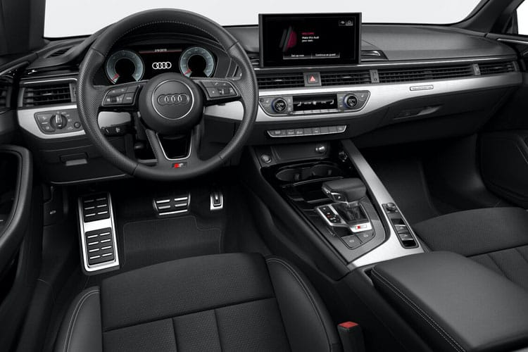 Audi A5 40 Cabriolet quattro 2Dr 2.0 TDI 190PS S line 2Dr S Tronic [Start Stop] inside view