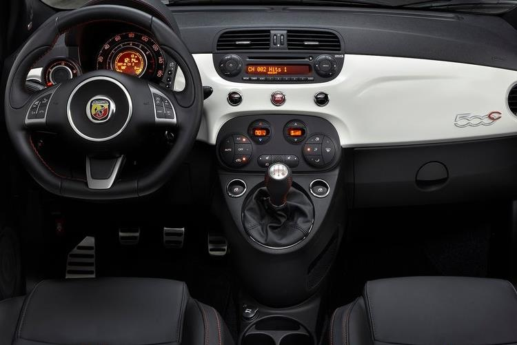 Abarth 595 C Cabrio 1.4 T-Jet 180PS Competizione 2Dr Manual inside view