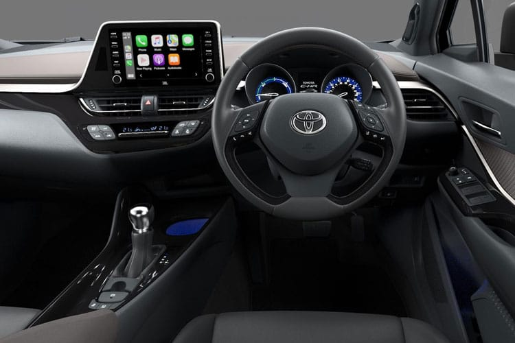 Toyota C-HR 5Dr 1.8 VVT-h 122PS Design 5Dr CVT [Start Stop] [Lthr] inside view