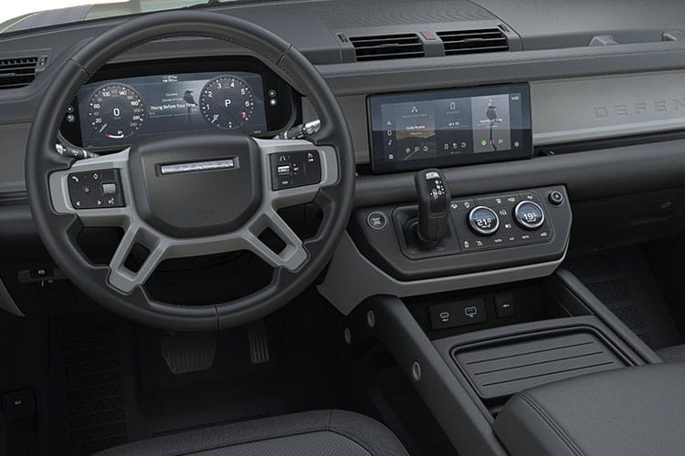 Land Rover Defender 110 SUV 5Dr 3.0 D MHEV 250PS HSE 5Dr Auto [Start Stop] [6Seat] inside view