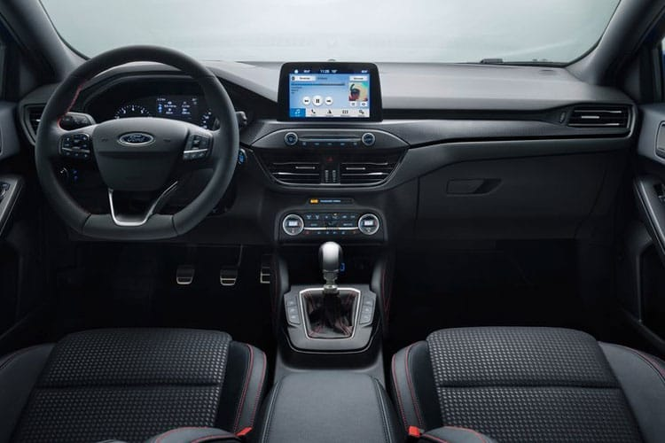 Ford Focus Hatch 5Dr 1.0 T EcoBoost 125PS Active X Vignale Edition 5Dr Auto [Start Stop] inside view