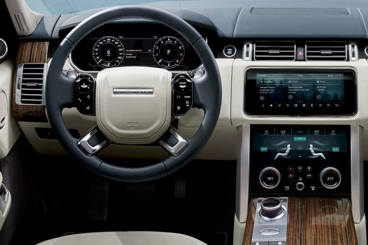 Land Rover Range Rover SUV 3.0 D MHEV 350PS Vogue SE 5Dr Auto [Start Stop] inside view