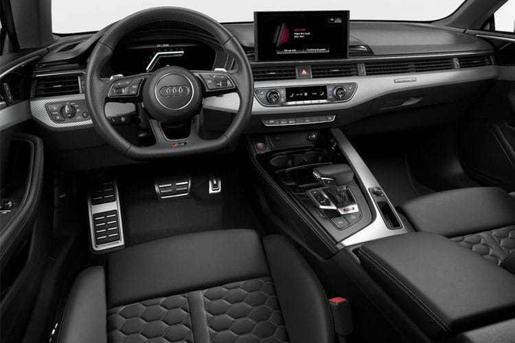 Audi A5 45 Coupe quattro 2Dr 2.0 TFSI 265PS S line 2Dr S Tronic [Start Stop] inside view